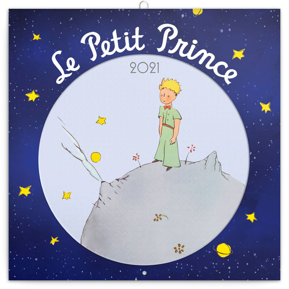 artistica_fine_art_example of calendars 2021 - Le Petit Prince