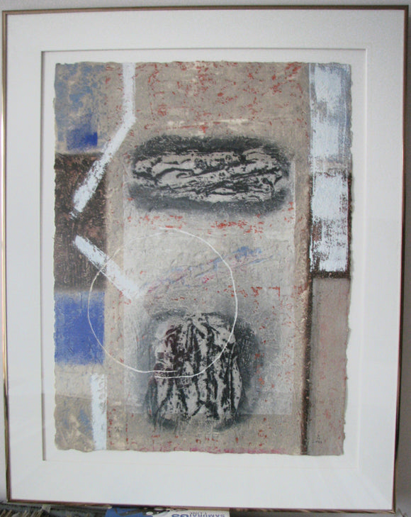 Untitled - (Framed Lithograph Numbered & Signed) 11/30