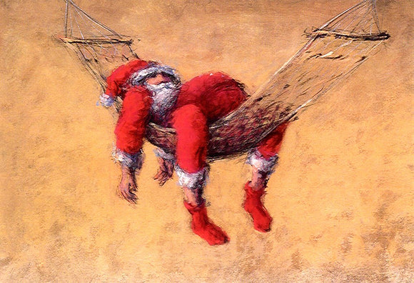 Lazy Xmas by Peter Wever - 5 X 7