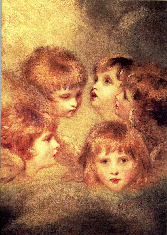 Angels' faces, 1780