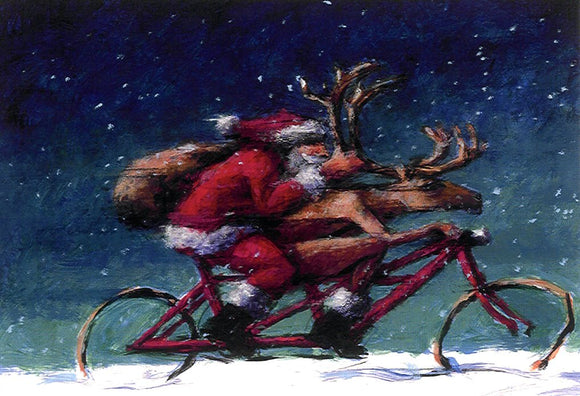 Tour the Xmas by Peter Wever - 5 X 7