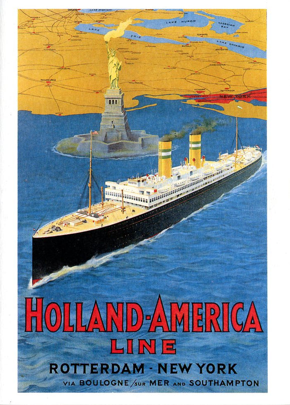 Holland-America Line Rotterdam-New York