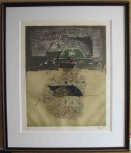 Untitled (Framed Lithograph Numbered & Signed) 07/135