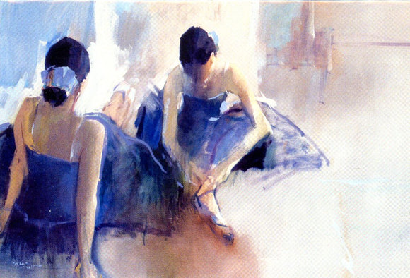 Two ballet girls