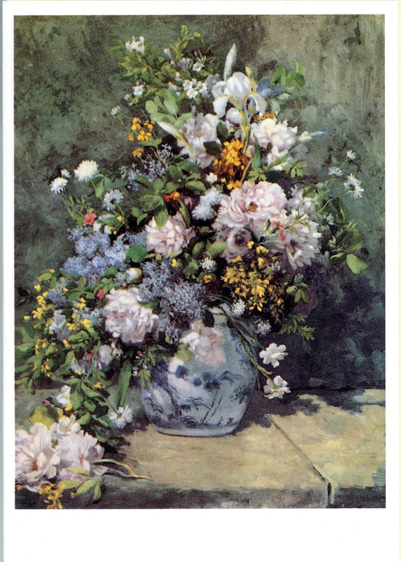 A Large Vase of Flowers / Bouquet de Fleurs, 1866