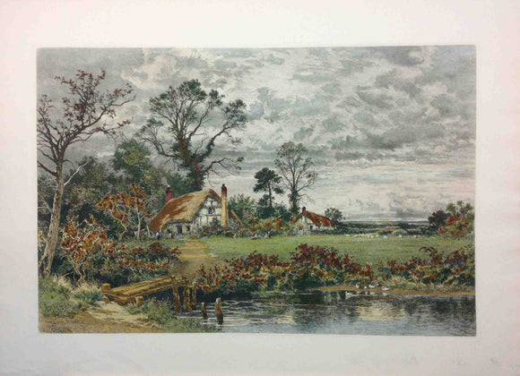 The Gleam Before the Storm - (Lithography Numbered & Signed) 139/160