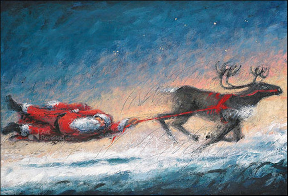 Spirited Xmas by Peter Wever - 5 X 7