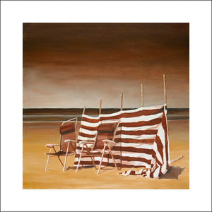 Beach with Armchairs, 2009 - (Digital print)