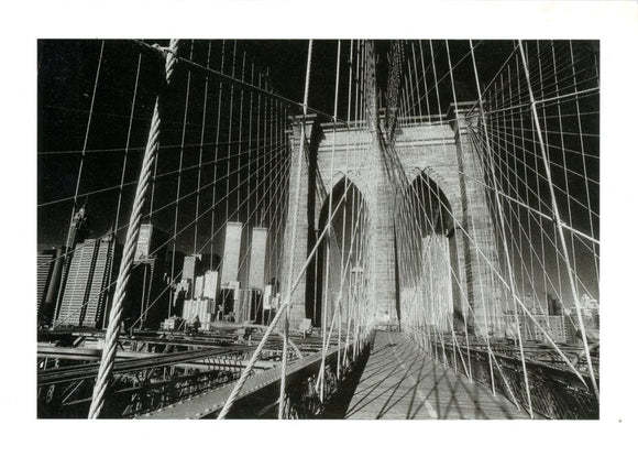 The Brooklyn Bridge, New York 1985