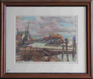 Friendly Haven (Framed Lithograph Numbered & Signed) 64/210