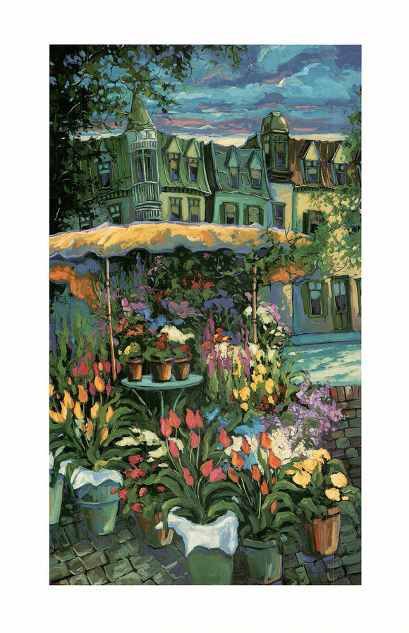 Neighborhood Florist by Robert Savignac - 20 X 30