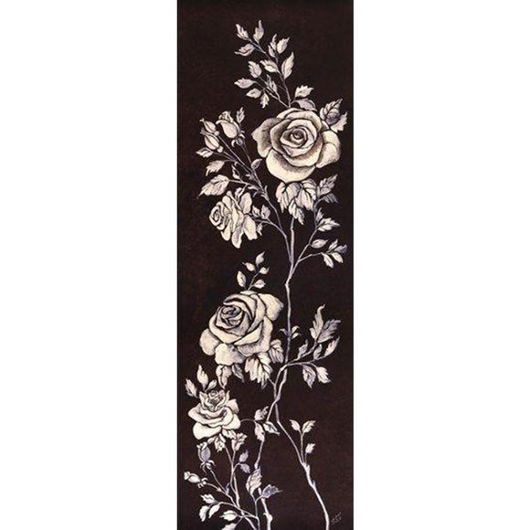 Ivory Roses II by Susan Jeschke - 12 X 36 Inches (Art Print)