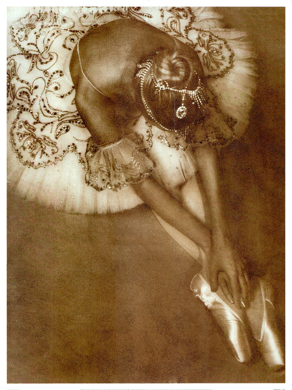 Pointe by Joy Goldkind - 19 X 25 Inches (Art Print)