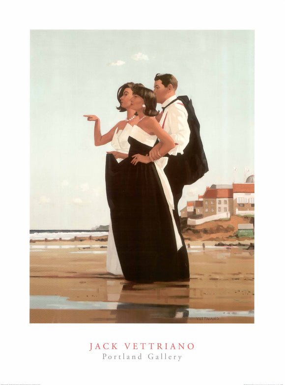 The Missing Man II by Jack Vettriano - 24 X 32 Inches (Art Print)