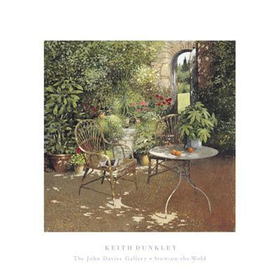 The Walled Garden by Keith Dunkley - 16 X 16 Inches (Art Print)
