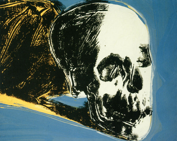 Skull, 1976 by Andy Warhol - 16 X 20 Inches (Art Print)