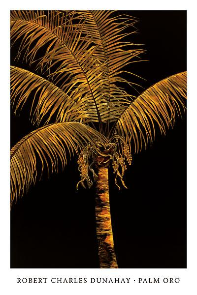 Palm Oro by Robert Dunahay - 14 X 20 inches (Art Print)