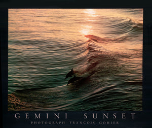 Gemini Sunset by François Gohier - 24 X 28 Inches (Art Print)