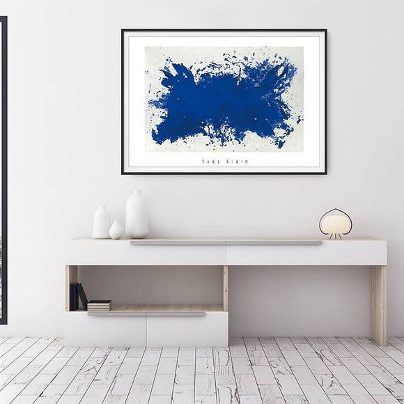 Hommage a Tennessee Williams, 1960 by Yves Klein - 28 X 40