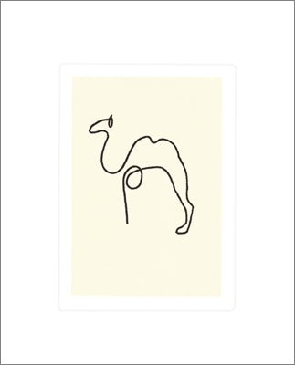 The Camel by Pablo Picasso - 20 X 24 Inches (Silkscreen)
