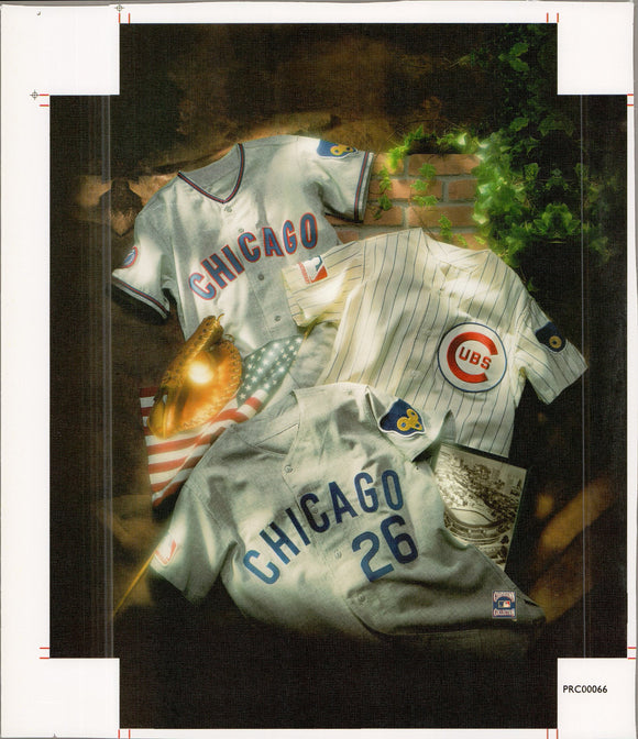 Chicago - Cubs - 11 X 14 Inches (Canvas Roll or Stretched ready to hang)