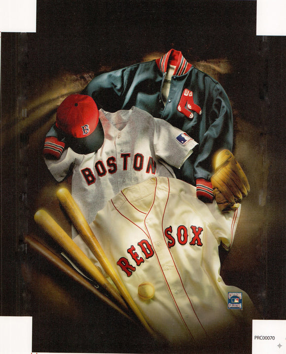 Boston - Red Sox - 11 X 14 Inches (Canvas Roll or Stretched ready to hang)