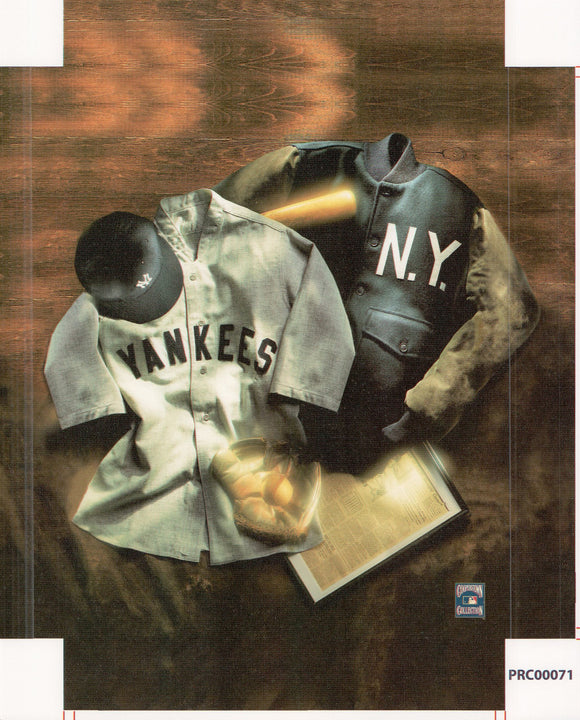 New York - Yankees - 11 X 14 Inches (Canvas Roll or Stretched ready to hang)