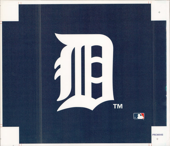 Detroit - Tigers- 11 X 14 Inches (Canvas Roll or Stretched ready to hang)