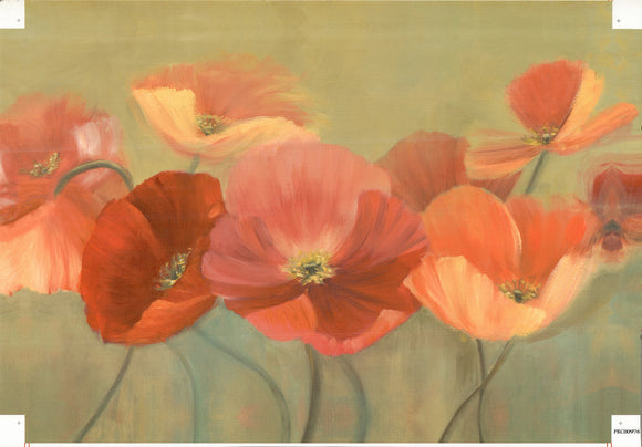Floral - 24 X 36 Inches (Canvas Roll or Stretched ready to hang)