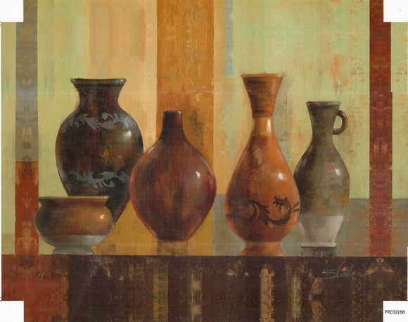 Vases - 22 X 28 Inches (Canvas Roll or Stretched ready to hang)