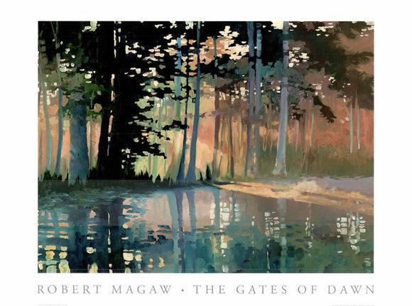 The Gate of Dawn by Robert Magaw - 27 X 36 Inches (Art Print)