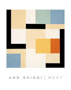 West by Ann Shiogi - 22 X 28 Inches (Art Print)