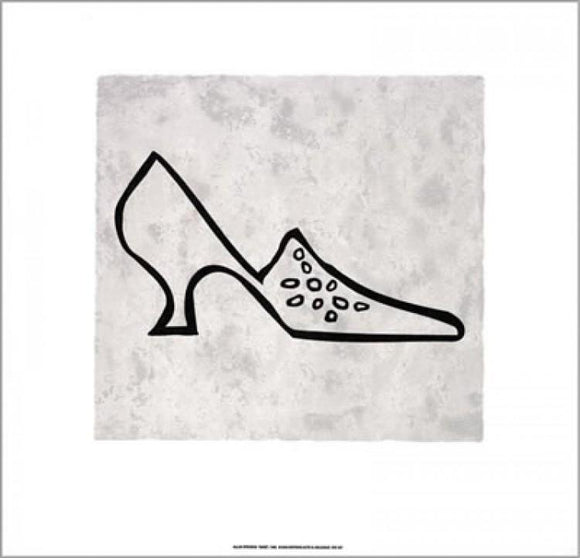 Shoe, 1999 by Allan Stevens - 20 X 20 Inches (Silkscreen / Sérigraphie)