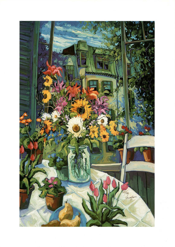 For Pleasure by Robert Savignac - 21 X 29