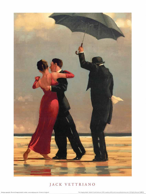 The Singing Butler by Jack Vettriano - 12 X 16 Inches (Art Print)
