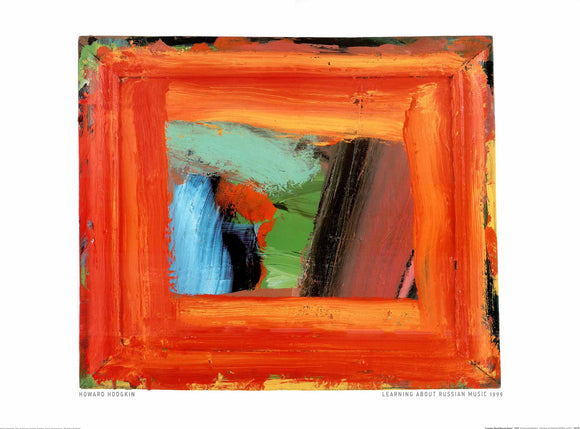 Learning About Russian Music, 1999 by Howard Hodgkin - 24 X 32 Inches (Art Print)