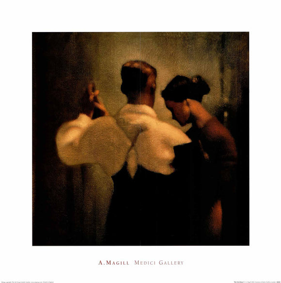 The First Dance by Anne Magill - 24 X 24 Inches (Art Print)