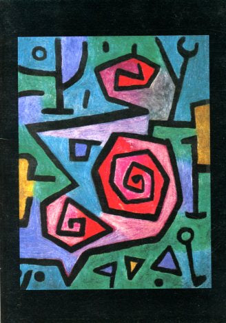 Heroic Roses, 1938 by Paul Klee - 5 X 7 Inches (Greeting Card)