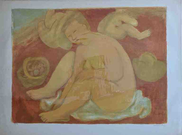 Baigneuse (Lithograph Numbered & Signed) 52/120