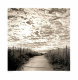 "To the Beach by Michael Kahn - 16 X 16"" - Fine Art Poster."