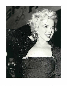 "Marilyn Monroe by Unknown / Anonyme - 16 X 20"" - Fine Art Poster."
