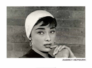 Audrey Hepburn by Dennis Stock - 24 X 32 Inches - Fine Art Poster.
