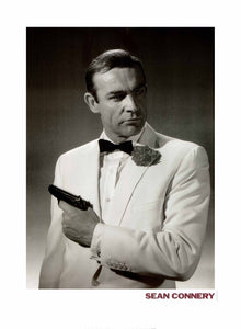 "Sean Connery by George Rodger - 24 X 32"" - Fine Art Poster."