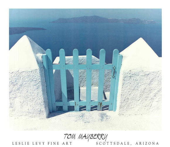Tom Mayberry - Blue Gate, Santorini