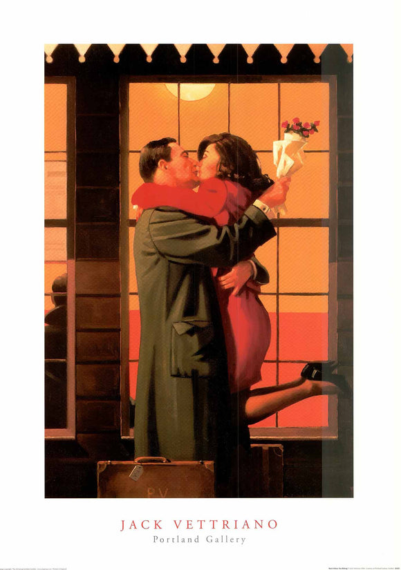 Back Where You Belong by Jack Vettriano - 20 X 28