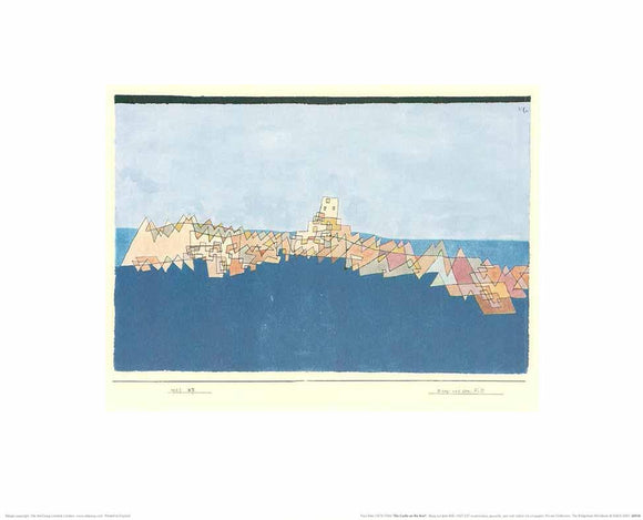 The Castle on the Reef by Paul Klee - 16 X 20