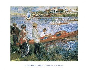 Oarsmen at Chatou by Pierre-Auguste Renoir - 16 X 20