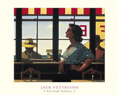 A Date with Fate by Jack Vettriano - 16 X 20