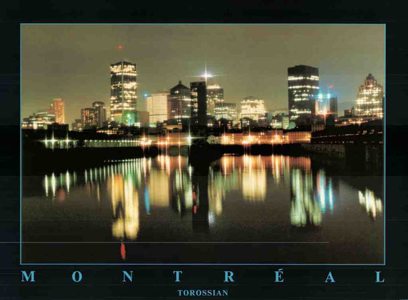 Montréal by Torossian - 24 X 32 Inches - Fine Art Poster.