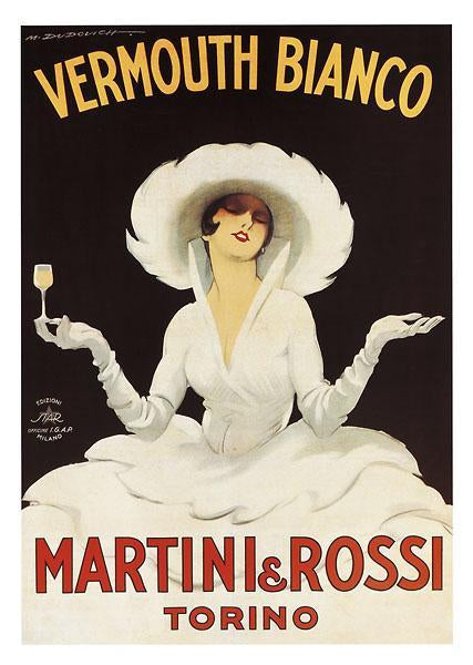 Martini & Rossi by Marcello Du Dovich - 36 X 52